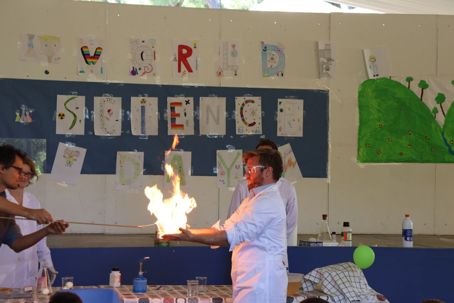 Science Day at CBS